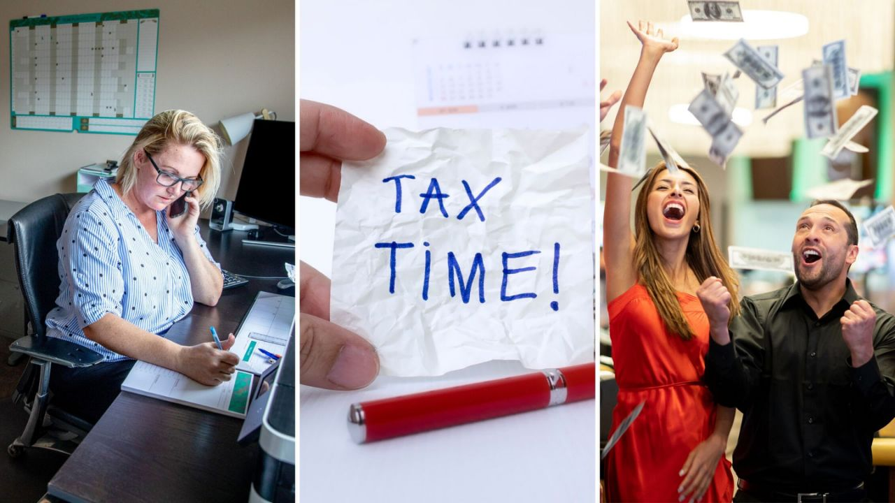 Get ready! It's the tax time.
