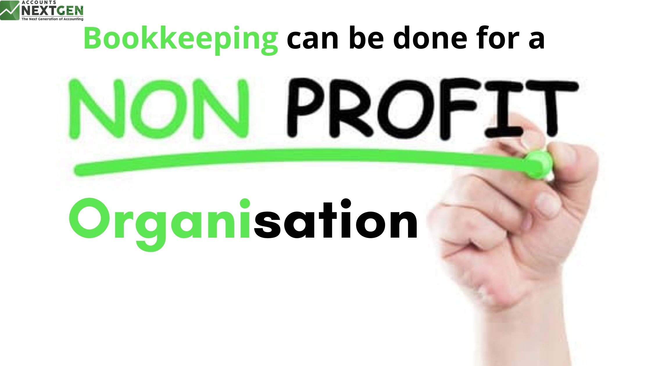 How Bookkeeping can be done for a Non-Profit Organisation?