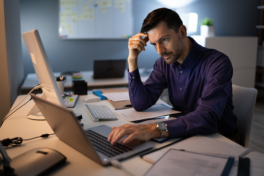 What should the accountants do to reduce the stress of COVID