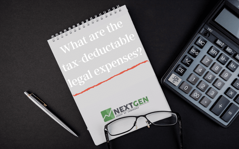 What are the tax-deductable legal expenses_